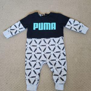 Baby Boy Puma Onesie 6-9 Months